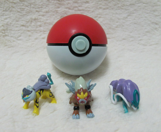 "2/"" Raikou # 243 Pokemon Toys Action Figures Figurines 2nd Series Generation 2"